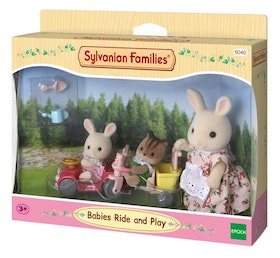 Sylvanian Families Babies Ride and Play 5040