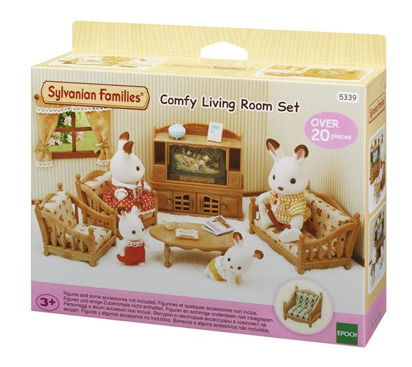 Sylvanian Families Comfy Living Room Set 5339