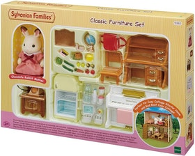 Sylvanian Families Classic Furniture Set (for Cosy Cottage Starter Home) 5392