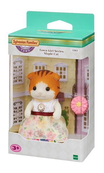 Sylvanian Families Town Series  Maple Cat 5363