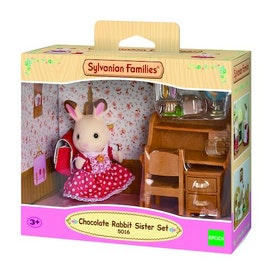 Sylvanian Families Chocolate Rabbit Sister Set 5016