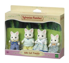 Sylvanian Families Silk Cat Family 4175