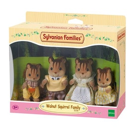 Sylvanian Families Walnut Squirrel Family 4172