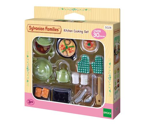 Sylvanian Families Kitchen Cooking Set 5028