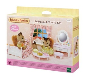 Sylvanian Families Bedroom & Vanity Set 5285