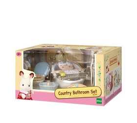 Sylvanian Families Country Bathroom Set 5286