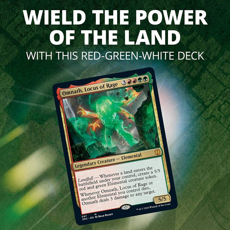 Magic: The Gathering Zendikar Rising Commander Deck – Land's Wrath