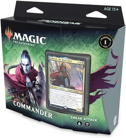 Magic: The Gathering Zendikar Rising Commander Deck – Sneak Attack