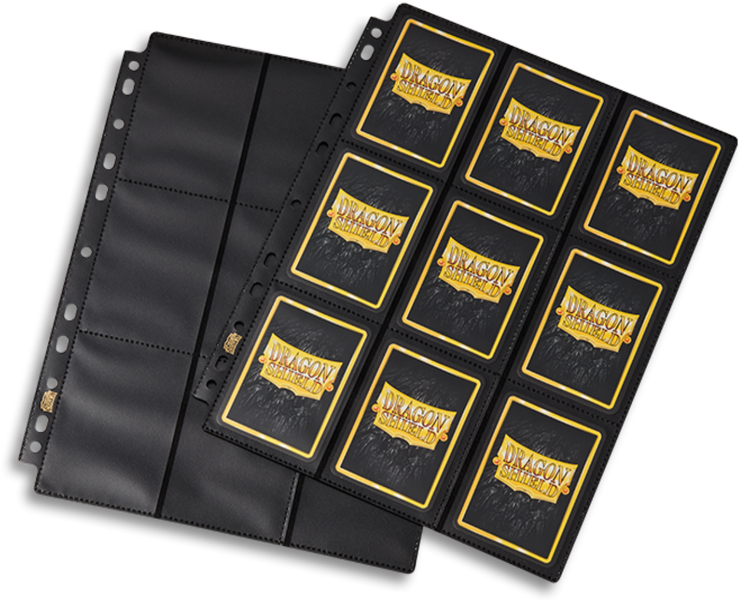 Dragon Shield Binder Pages - 18-Pocket Pages Non-Glare (50st)