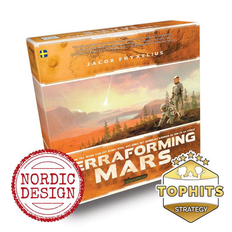 Terraforming Mars (Engelsk)