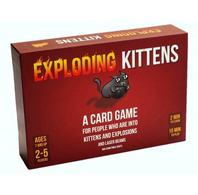 Exploding Kittens Original Edition (Nordisk)