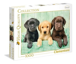 Clementoni High Quality Collection - Three Labs (1000 bitar)