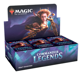 Magic the Gathering: Commander Legends Draft Display (24 boosters)