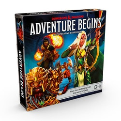 Dungeons & Dragons: Adventure Begins - A Cooperative Boardgame