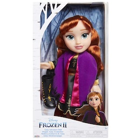 Disney Frozen 2 Toddler Travel Anna Frost 2 Doll 35cm Docka
