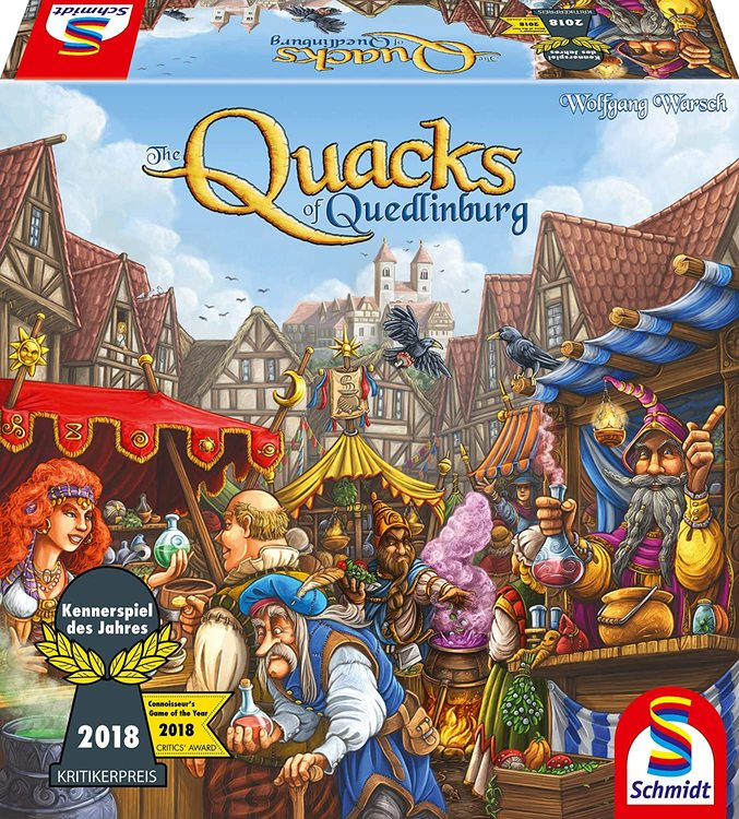 The Quacks of Quedlinburg (engelsk)