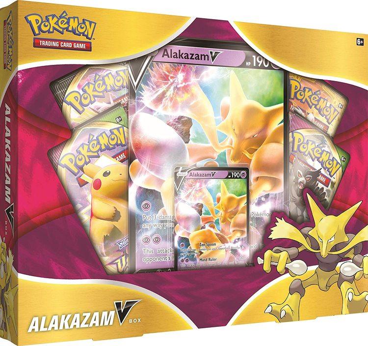 Pokemon Sword & Shield 5: Alakazam V Box