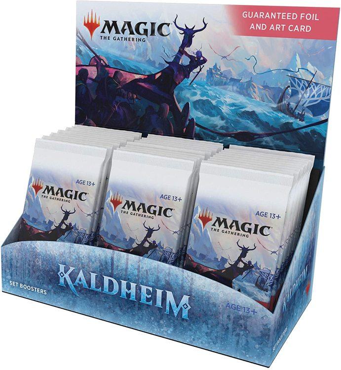 Magic The Gathering: Kaldheim Set Booster Display (30 Pack)