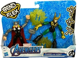 Marvel Bend & Flex Dual Pack Thor Vs. Loki