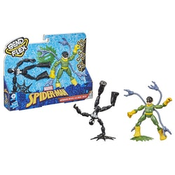Marvel Bend & Flex Dual Pack Doc Ock vs. Black Suit Spider-Man