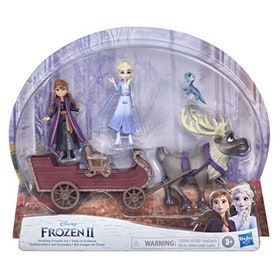 Disney Frost 2 - Frozen 2 Small Doll Sledding Friends Set