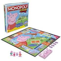 Monopoly Junior Peppa Pig (Svenska)