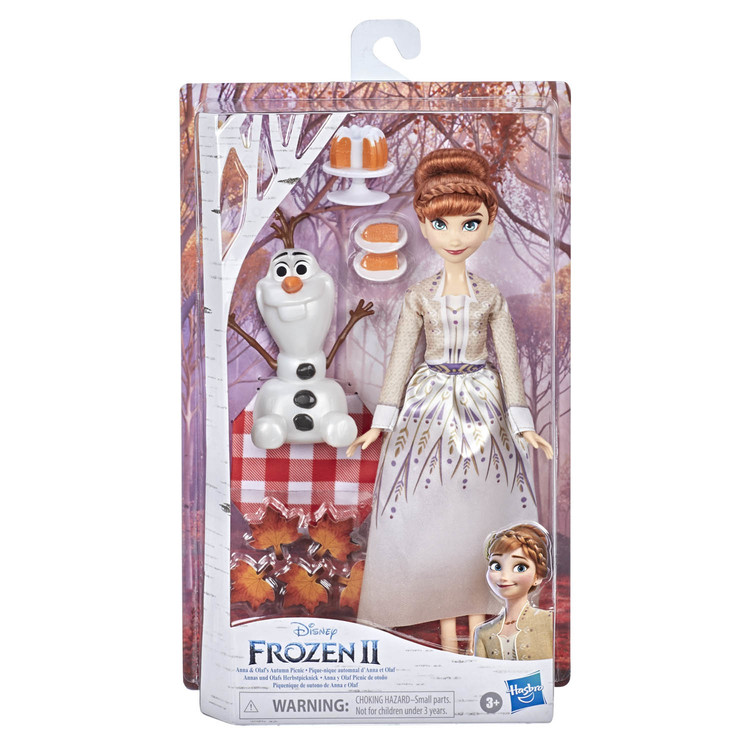 Disney Frost 2 Storytelling Fashion Doll Anna and Olaf's Autumn Picknick