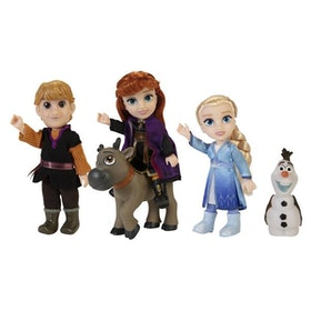 Disney Frost 2 Petite Doll Adventure Characters Gift Set (ca 15cm)
