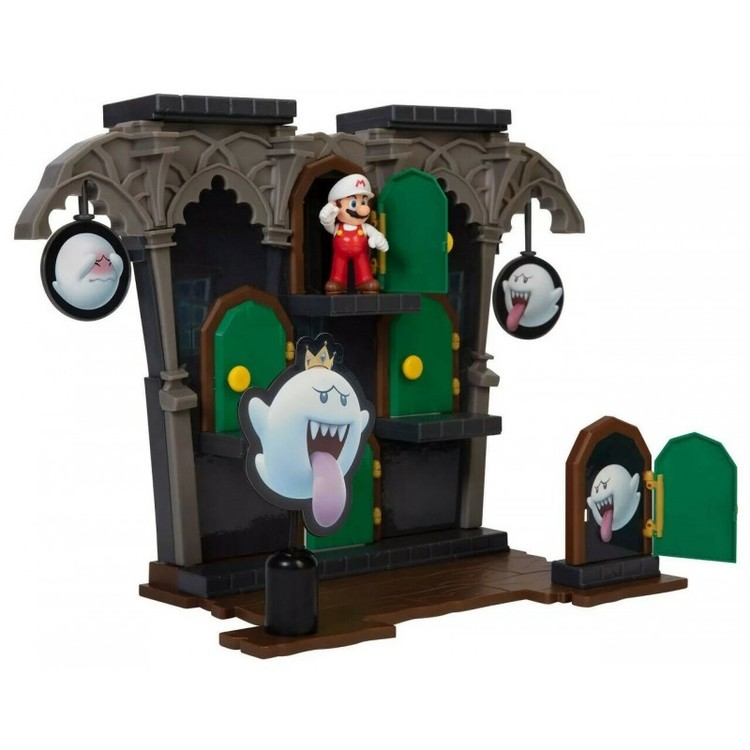 Super Mario 2.5 Inch Deluxe Playset Boo Mansion