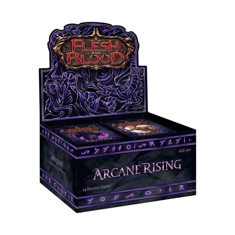 Flesh and Blood TCG: Arcane Rising Unlimited Booster Display (24)