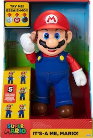 Super Mario It´s A Me Mario Interaktiv Docka