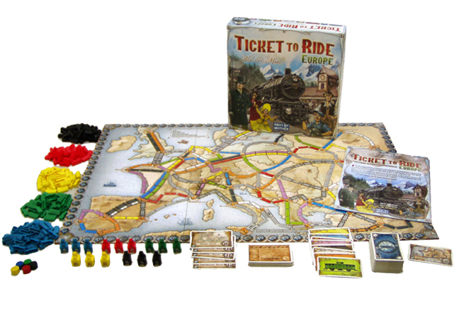 Ticket To Ride - Europe (Nordisk)