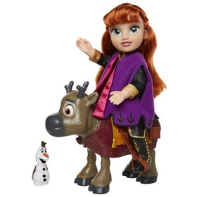 Disney Frost 2 Toddler Doll Travel Anna and Sven