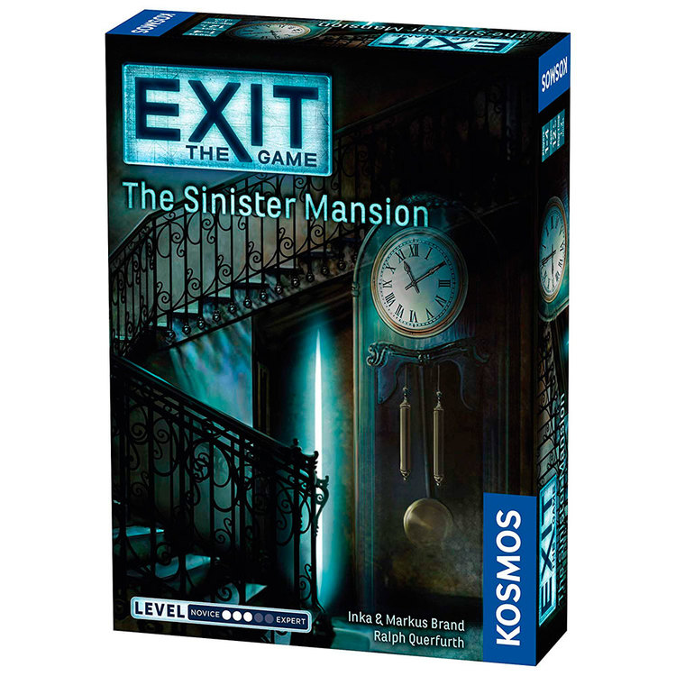 Exit: The Sinister Mansion (Engelsk)