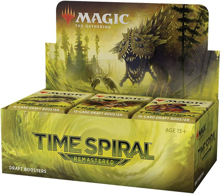Magic The Gathering: Time Spiral Remastered Draft Booster Box (36 Pack)