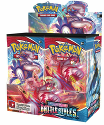 Pokemon - Sword & Shield Battle Styles Booster Box (36 Booster Packs)
