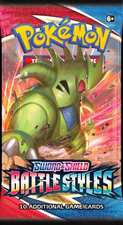 Pokemon - Sword & Shield Battle Styles Booster