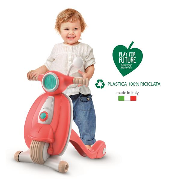 Clementoni My First Steps Scooter - Walk and Play (100% Återvunnet material)
