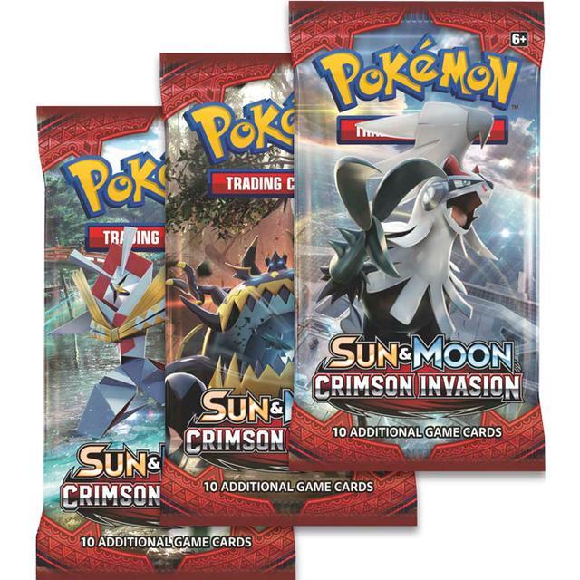 Pokemon - Sun & Moon Crimson Invasion Booster