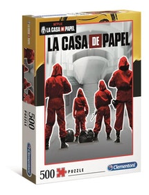 Clementoni High Quality Collection Netflix La Casa De Papel (500 bitar)