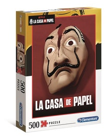 Clementoni High Quality Collection Netflix La Casa De Papel Mask (500 bitar)