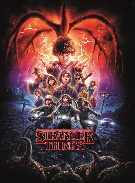 Clementoni High Quality Collection Netflix Stranger Things Dark (500 bitar)