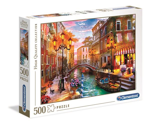 Clementoni High Quality Collection Sunset Over Venice (500 bitar)