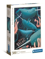 Clementoni High Quality Collection Narwhal (500-bitar)