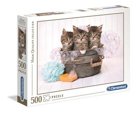 Clementoni High Quality Collection Kittens And Soap (500-bitar)