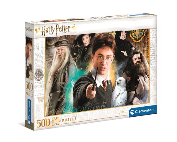 Clementoni High Quality Collection Harry Potter (500-bitar)