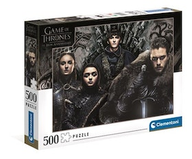 Clementoni High Quality Collection Game of Thrones (500-bitar)