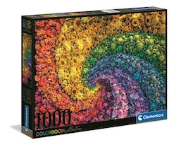 Clementoni High Quality Collection - Whirl Colorboom (1000 bitar)