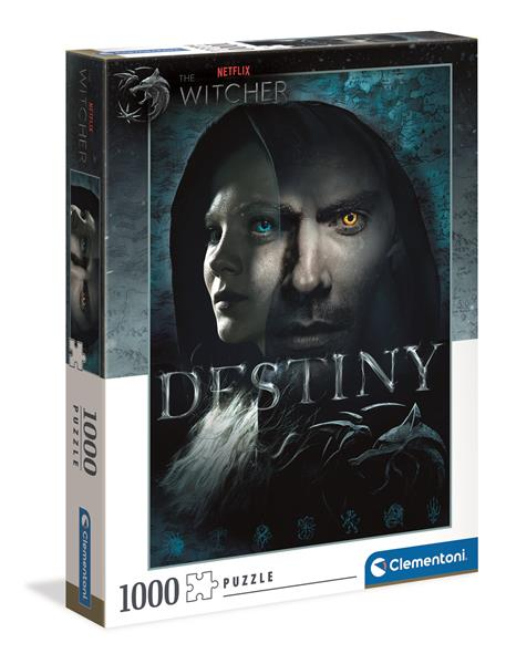 Clementoni High Quality Collection - Netflix The Witcher Faces (1000 bitar)