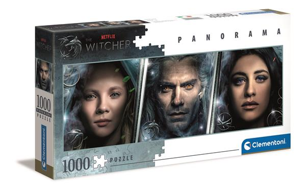 Clementoni High Quality Collection - Panorama  The Witcher (1000 bitar)